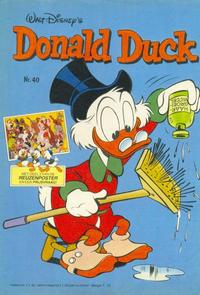 Cover Thumbnail for Donald Duck (Oberon, 1972 series) #40/1981