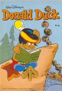Cover Thumbnail for Donald Duck (Oberon, 1972 series) #46/1981
