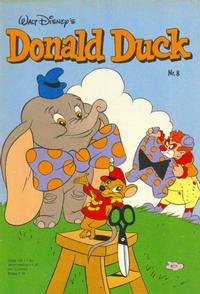 Cover Thumbnail for Donald Duck (Oberon, 1972 series) #8/1982