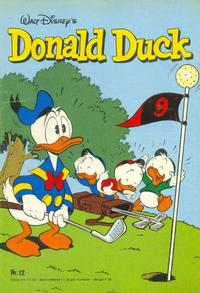 Cover Thumbnail for Donald Duck (Oberon, 1972 series) #12/1982
