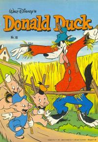 Cover Thumbnail for Donald Duck (Oberon, 1972 series) #18/1982