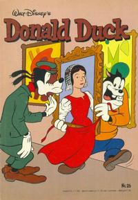 Cover Thumbnail for Donald Duck (Oberon, 1972 series) #26/1982