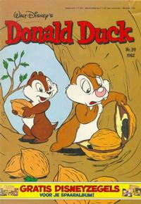 Cover Thumbnail for Donald Duck (Oberon, 1972 series) #39/1982