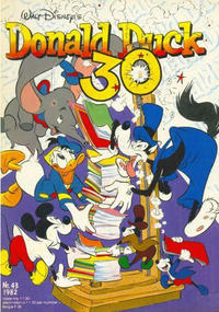 Cover Thumbnail for Donald Duck (Oberon, 1972 series) #43/1982