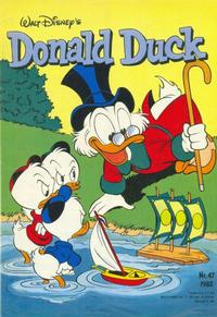 Cover Thumbnail for Donald Duck (Oberon, 1972 series) #47/1982