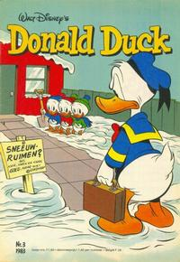 Cover Thumbnail for Donald Duck (Oberon, 1972 series) #3/1983