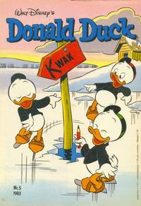 Cover Thumbnail for Donald Duck (Oberon, 1972 series) #5/1983