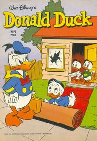 Cover Thumbnail for Donald Duck (Oberon, 1972 series) #9/1983