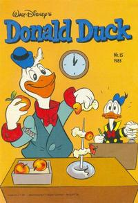 Cover Thumbnail for Donald Duck (Oberon, 1972 series) #15/1983