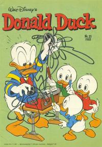 Cover Thumbnail for Donald Duck (Oberon, 1972 series) #21/1983