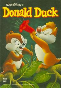 Cover Thumbnail for Donald Duck (Oberon, 1972 series) #26/1983