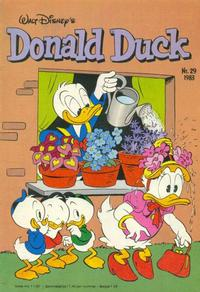 Cover Thumbnail for Donald Duck (Oberon, 1972 series) #29/1983