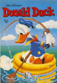 Cover Thumbnail for Donald Duck (Oberon, 1972 series) #37/1983