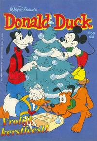 Cover Thumbnail for Donald Duck (Oberon, 1972 series) #50/1983
