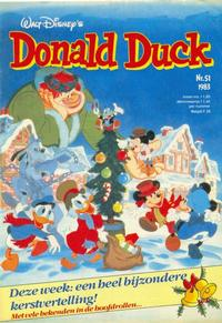 Cover Thumbnail for Donald Duck (Oberon, 1972 series) #51/1983