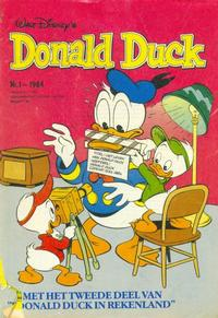 Cover Thumbnail for Donald Duck (Oberon, 1972 series) #1/1984