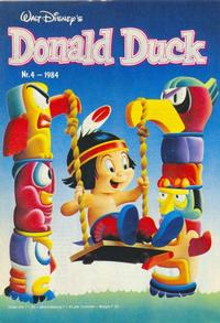 Cover Thumbnail for Donald Duck (Oberon, 1972 series) #4/1984