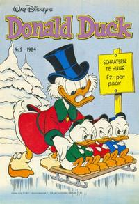 Cover Thumbnail for Donald Duck (Oberon, 1972 series) #5/1984