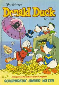 Cover Thumbnail for Donald Duck (Oberon, 1972 series) #7/1984