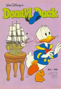 Cover Thumbnail for Donald Duck (Oberon, 1972 series) #11/1984
