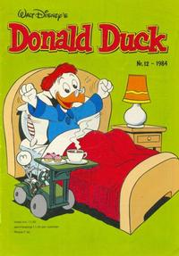 Cover Thumbnail for Donald Duck (Oberon, 1972 series) #12/1984