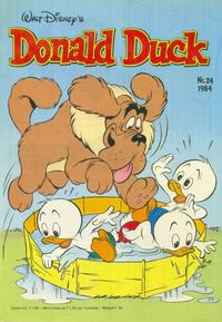 Cover Thumbnail for Donald Duck (Oberon, 1972 series) #24/1984