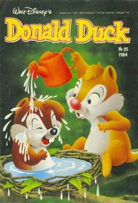 Cover Thumbnail for Donald Duck (Oberon, 1972 series) #25/1984