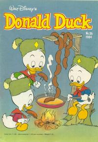 Cover Thumbnail for Donald Duck (Oberon, 1972 series) #26/1984