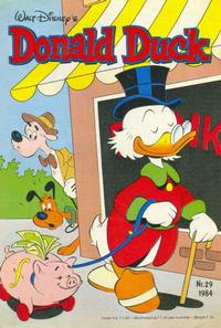 Cover Thumbnail for Donald Duck (Oberon, 1972 series) #29/1984