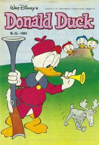 Cover Thumbnail for Donald Duck (Oberon, 1972 series) #36/1984