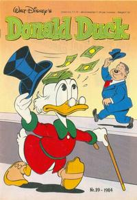 Cover Thumbnail for Donald Duck (Oberon, 1972 series) #39/1984