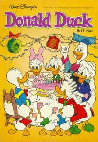 Cover Thumbnail for Donald Duck (Oberon, 1972 series) #43/1984