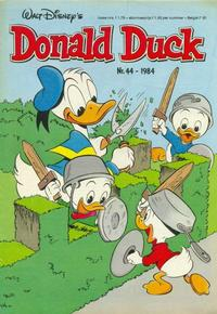 Cover Thumbnail for Donald Duck (Oberon, 1972 series) #44/1984