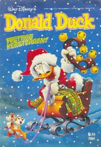 Cover Thumbnail for Donald Duck (Oberon, 1972 series) #50/1984