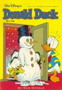 Cover Thumbnail for Donald Duck (Oberon, 1972 series) #4/1985