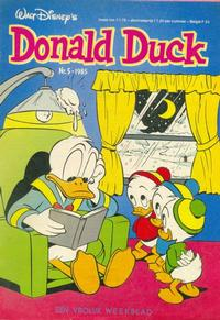 Cover Thumbnail for Donald Duck (Oberon, 1972 series) #5/1985