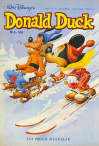 Cover Thumbnail for Donald Duck (Oberon, 1972 series) #6/1985