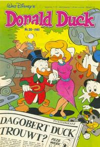 Cover for Donald Duck (Oberon, 1972 series) #20/1985