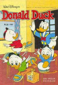 Cover Thumbnail for Donald Duck (Oberon, 1972 series) #22/1985