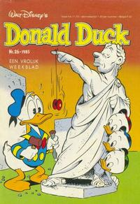 Cover Thumbnail for Donald Duck (Oberon, 1972 series) #26/1985
