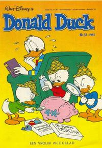 Cover Thumbnail for Donald Duck (Oberon, 1972 series) #37/1985
