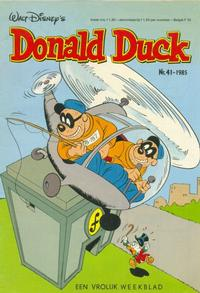 Cover Thumbnail for Donald Duck (Oberon, 1972 series) #41/1985