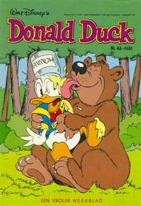 Cover Thumbnail for Donald Duck (Oberon, 1972 series) #46/1985