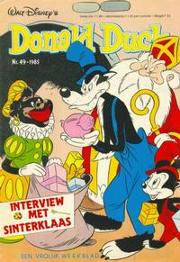 Cover Thumbnail for Donald Duck (Oberon, 1972 series) #49/1985