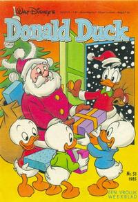 Cover Thumbnail for Donald Duck (Oberon, 1972 series) #51/1985