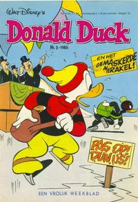 Cover Thumbnail for Donald Duck (Oberon, 1972 series) #3/1986