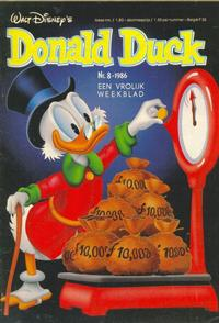 Cover Thumbnail for Donald Duck (Oberon, 1972 series) #8/1986