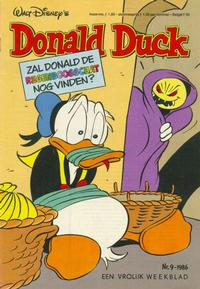 Cover Thumbnail for Donald Duck (Oberon, 1972 series) #9/1986
