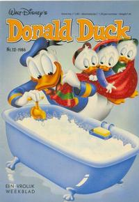 Cover Thumbnail for Donald Duck (Oberon, 1972 series) #12/1986