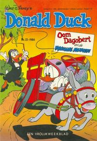 Cover Thumbnail for Donald Duck (Oberon, 1972 series) #21/1986